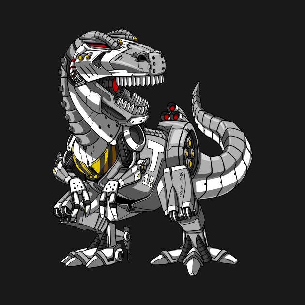 T-Rex Dinosaur Robot