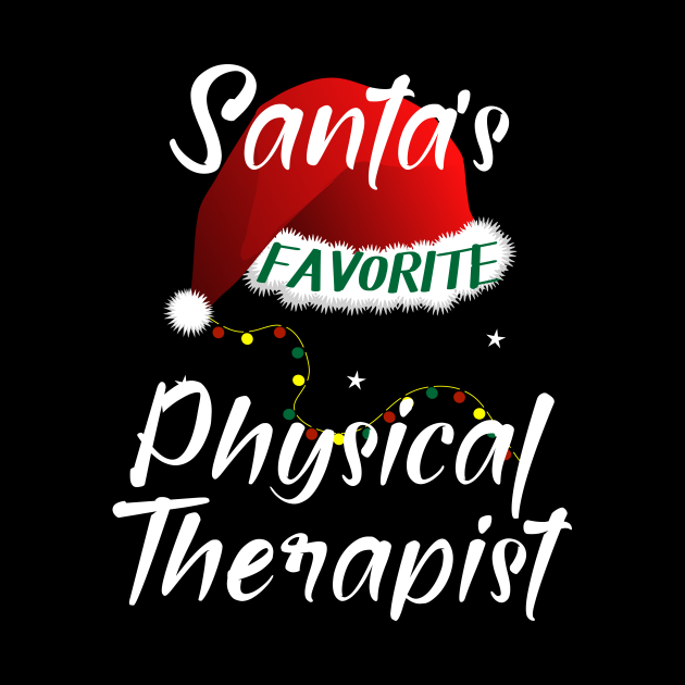Santa's Favorite Physical Therapist Matching Family Group ...