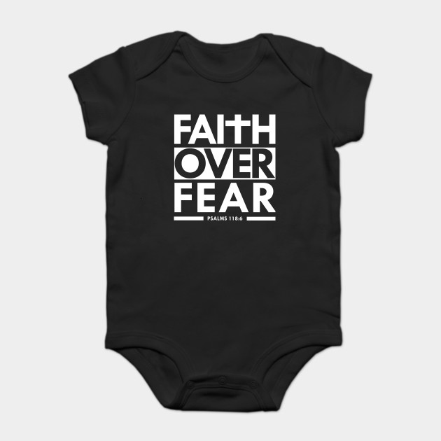 Faith Over Fear Bible Scripture Verse Christian