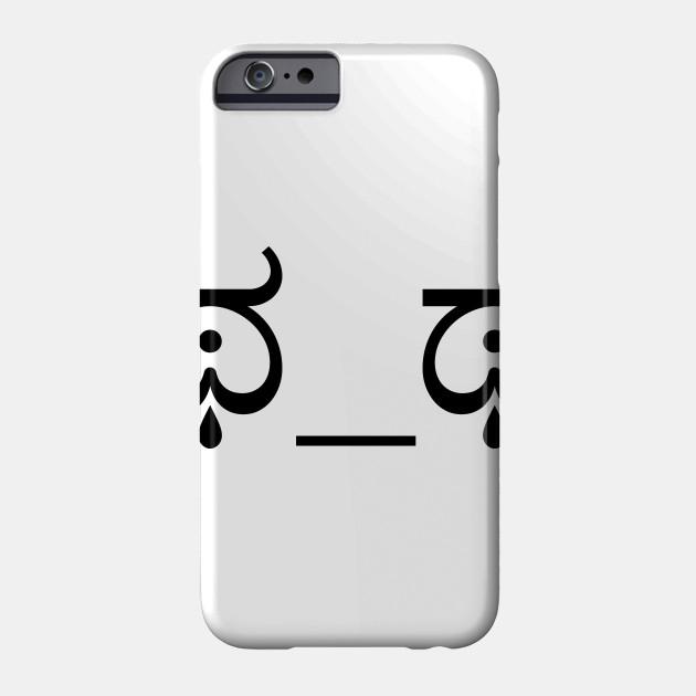 Crying Sad Cute Emoji Face social media meme Tshirt