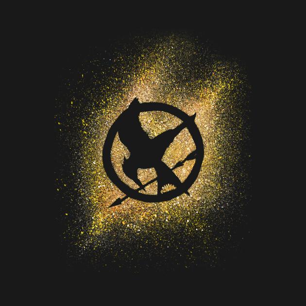 Catching Fire The Hunger Games T Shirt Teepublic