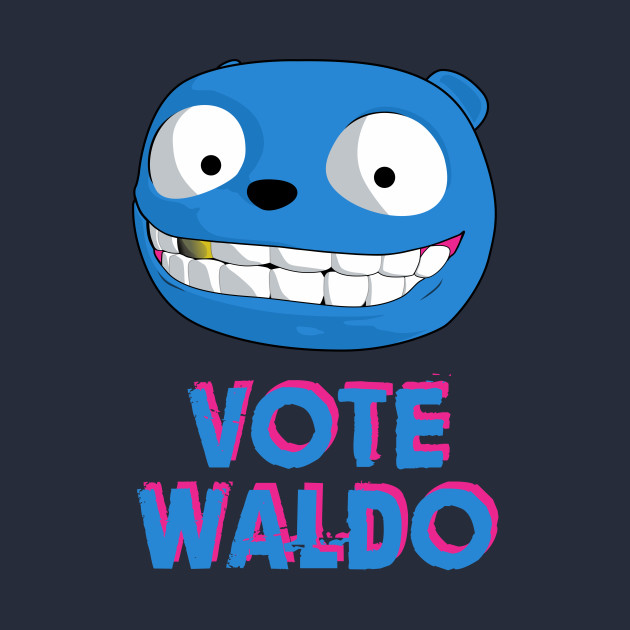 Black Mirror - Vote Waldo