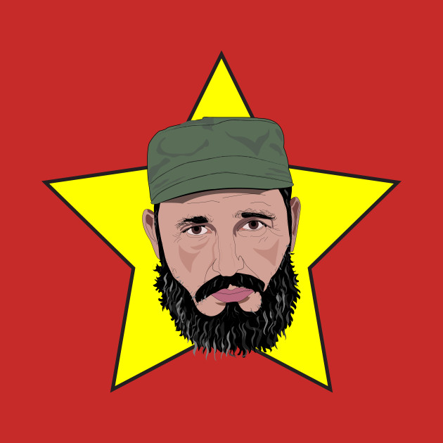 Fidel Castro Against Yellow Star