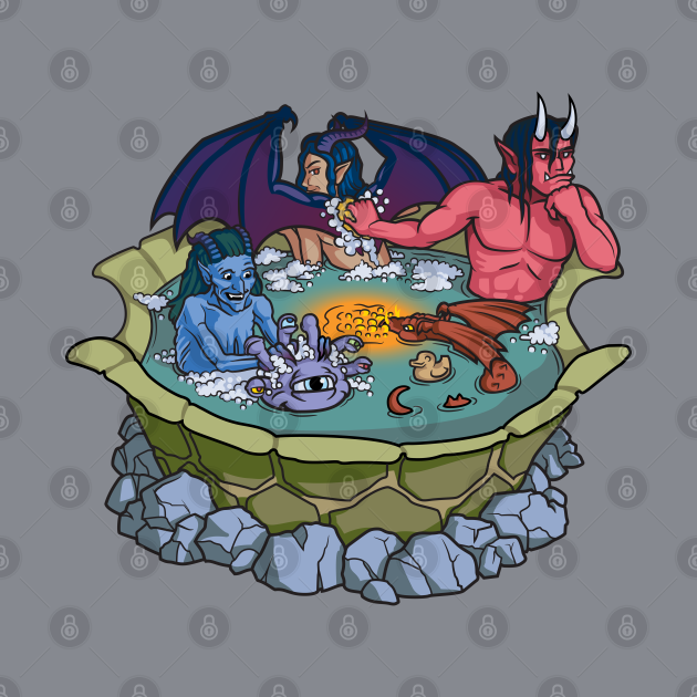 The Party That Bathes Together Stays Together (no text)