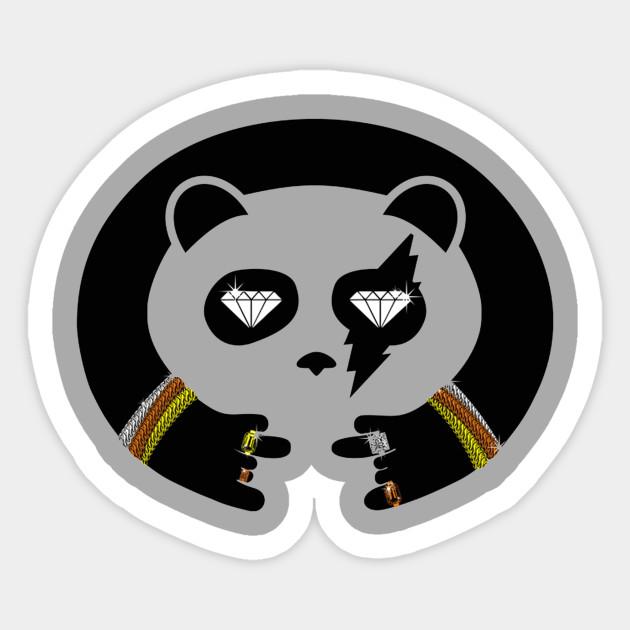 Panda Thug Life Thug Life Panda Sticker Teepublic