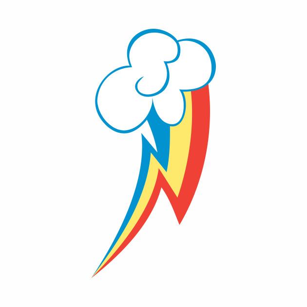 Rainbow Dash Cutie Mark My Little Pony