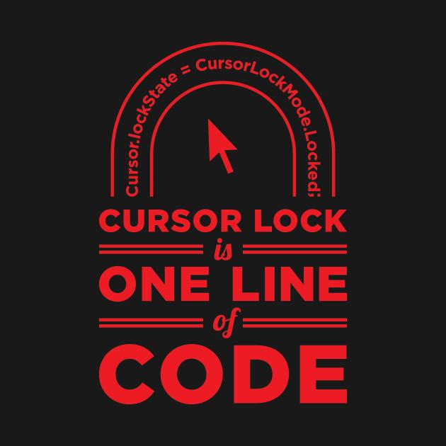 Cursor Lock Is One Line of Code