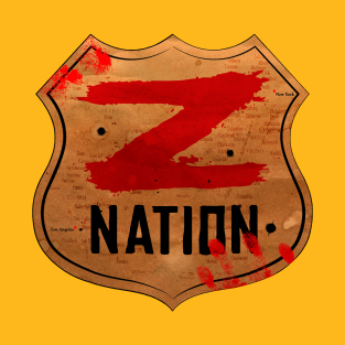 Z Nation t-shirts