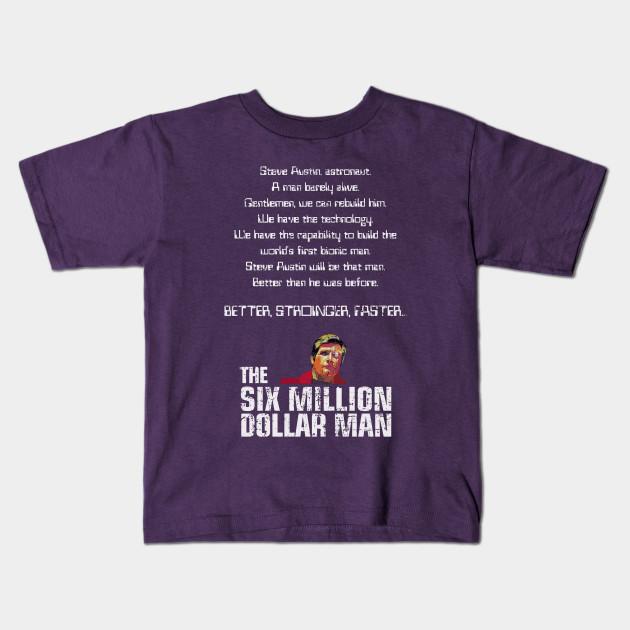 8d5890e0b3c The Six Million Dollar Man - The Six Million Dollar Man - Kids T ...