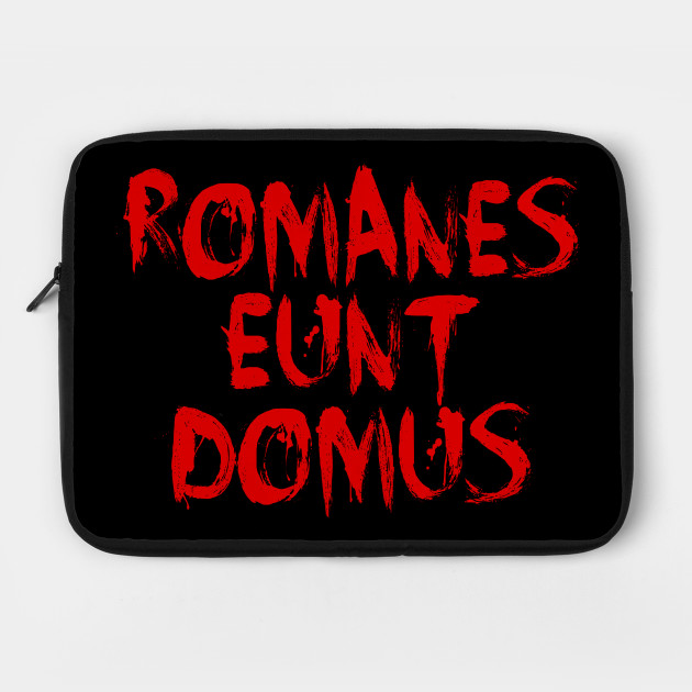 "ROMANES EUNT DOMUS Incorrect ""Romans, go home"" in Latin"