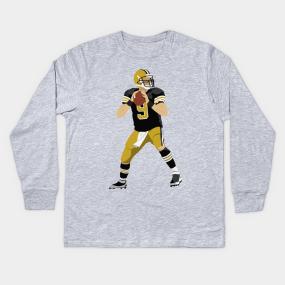 Drew Brees Kids Long Sleeve T-Shirts  c5be72c7b