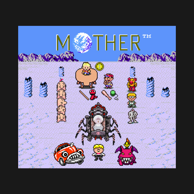 Earthbound Mother Reference Smash Brothers