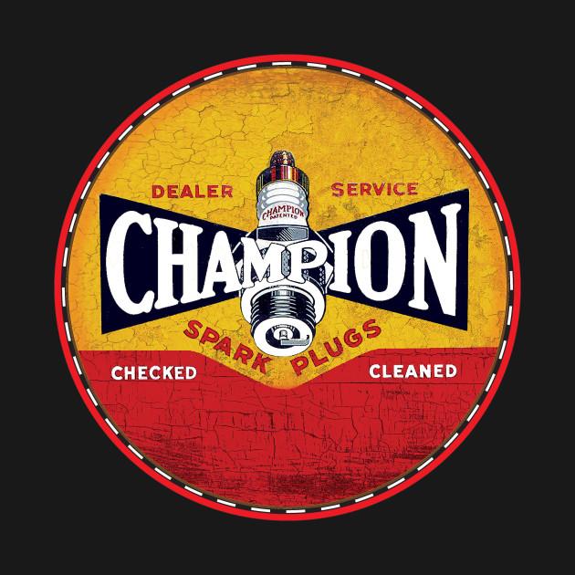 Champion Vintage Spark Plugs