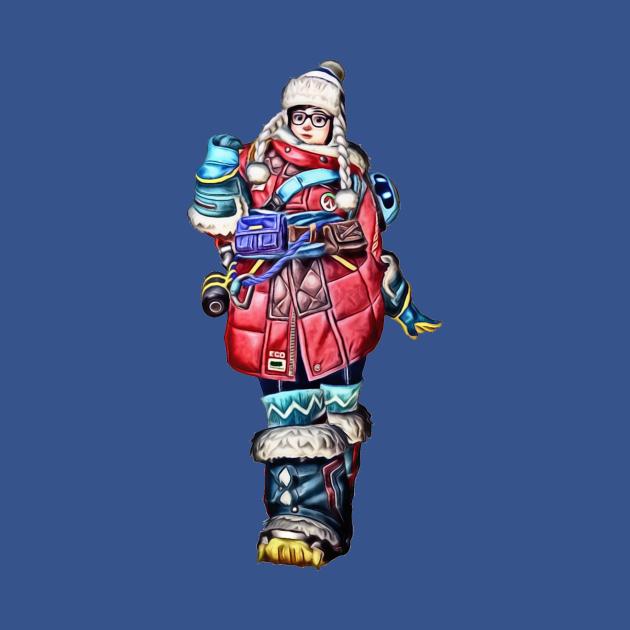 Mei, Ecopoint Antarctica Skin, Overwatch
