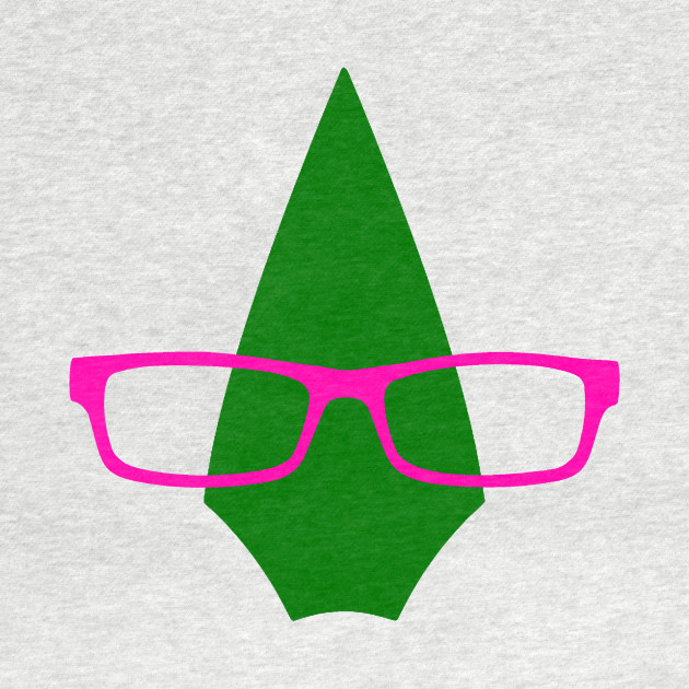 Olicity Icon - Arrowhead & Glasses