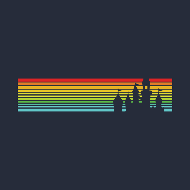 Retro Castle Stripes