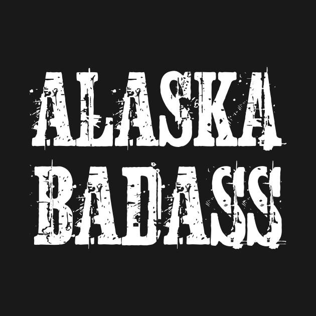 Alaska Badass Vintage Distressed T-Shirt