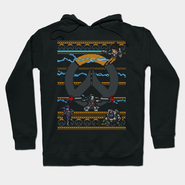 Overwatch Ugly Sweater Overwatch Hoodie Teepublic