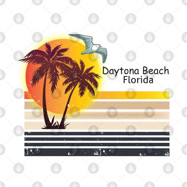 Vintage 1980s Daytona Beach Florida, Unisex