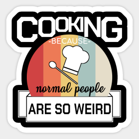 82c58945 Funny Chef Cooking Culinary Barkeeper Gift Gourmet Sticker