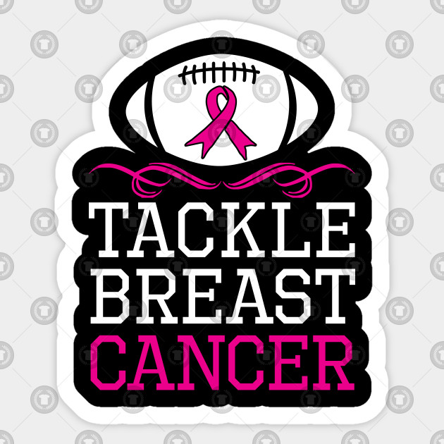 Tackle Breast Cancer Pink Gift