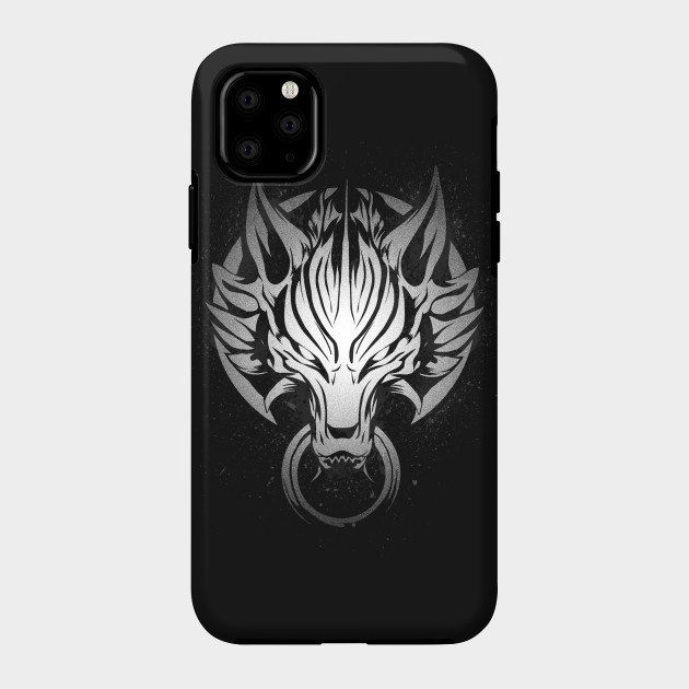 Cloud Strife s Wolf Emblem 2 iphone case