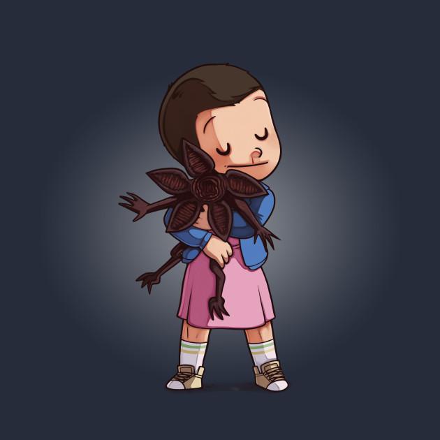 Eleven & Demogorgon