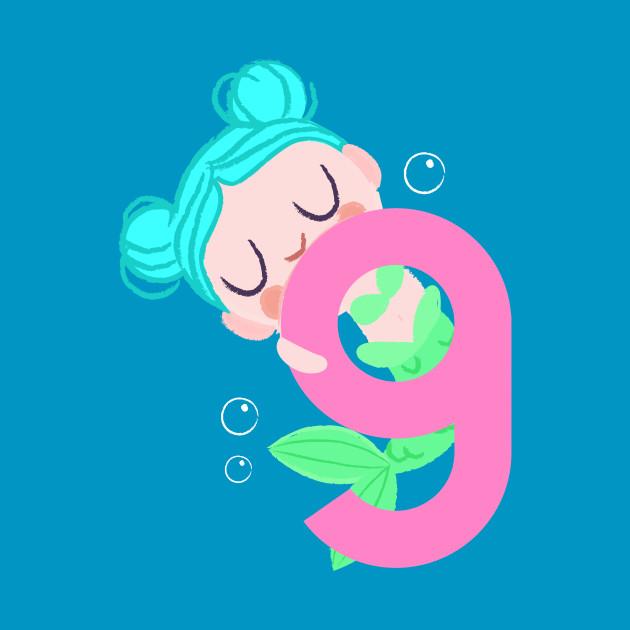 Mermaid Series: Number 9