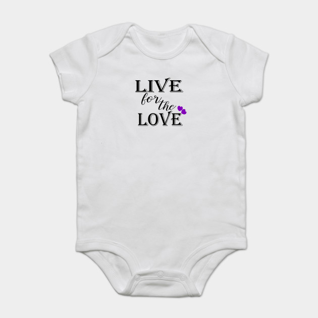 Bts Live For The Love Quote Art Bts Love Yourself Onesie