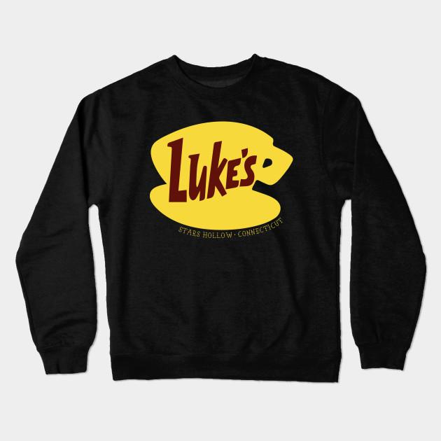 b7f04574b Luke's Diner - Gilmore Girls - Crewneck Sweatshirt   TeePublic