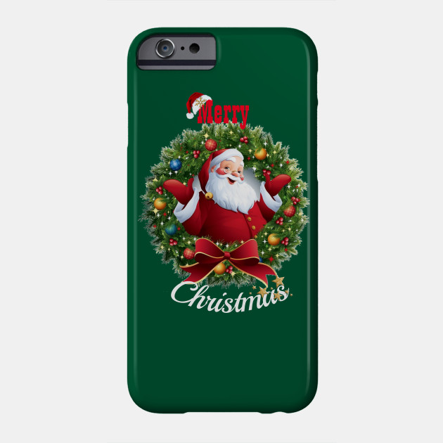Merry Christmas santa, Merry and Bright , Christ mas , Christmas shirt, xmas Phone Case