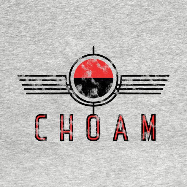 Choam Logo Red Vintage T-Shirt