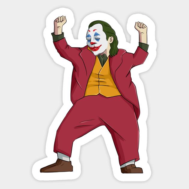 Sticker Joker small