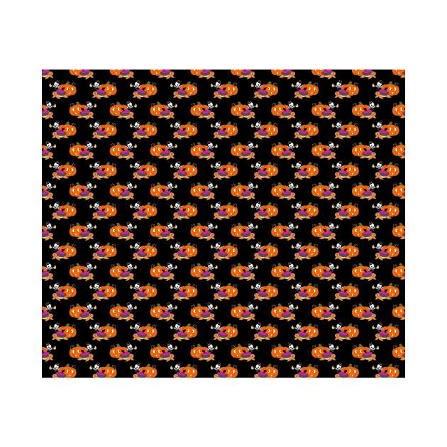 Spooky Turtle Pattern