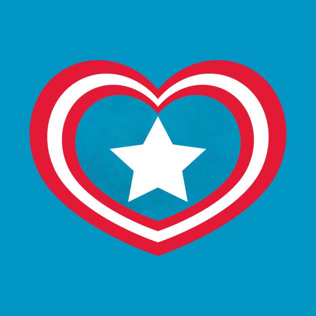 Captain America Heart