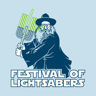 Festival of Lightsabers t-shirts