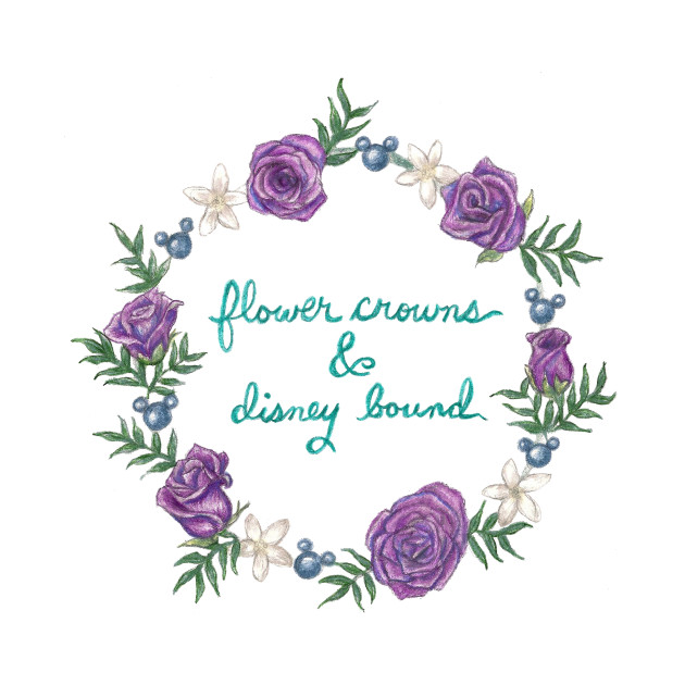 Flower Crowns & Disney Bound - Garland