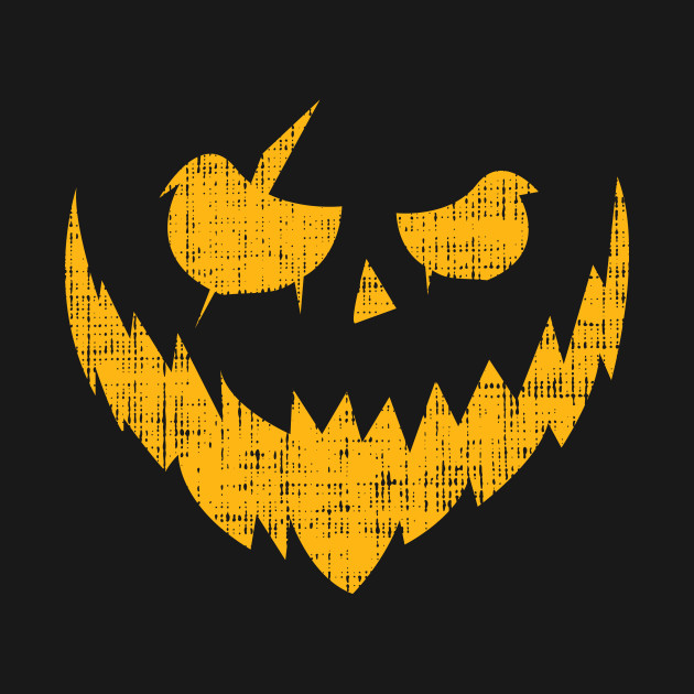 Halloween Pumpkin Creepy Smile Shirt