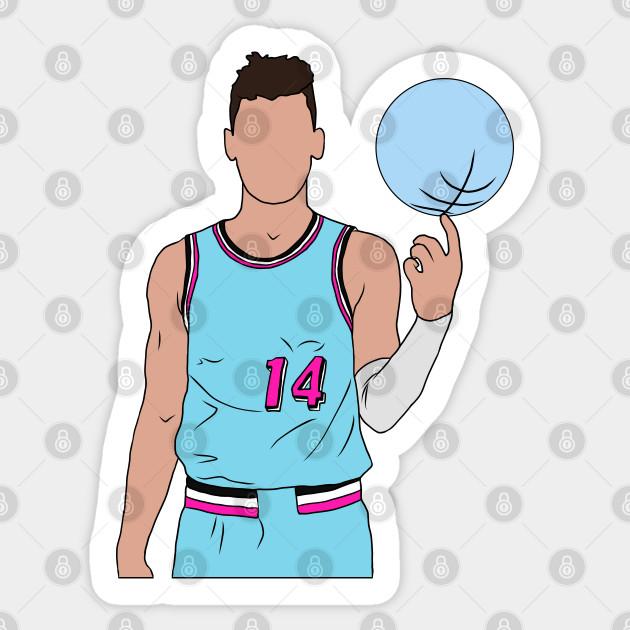 Tyler Herro Vice Tyler Herro Sticker Teepublic Au
