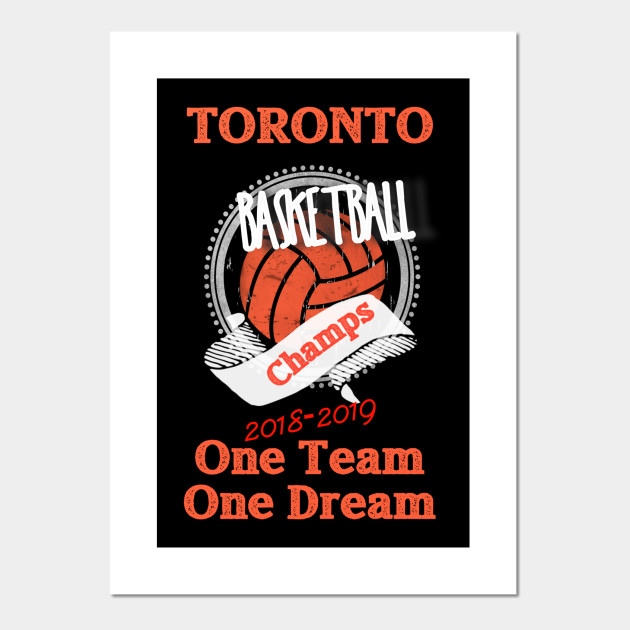 Toronto Basketball Championship One Team One Dream