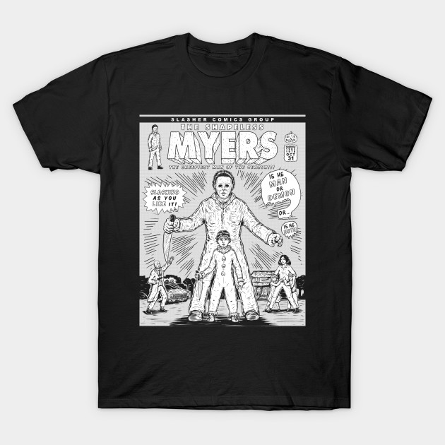SLASHER 1 INK MYERS T-Shirt-TOZ