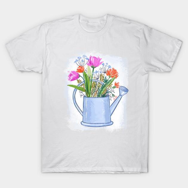 Denizko Flowers in watering can