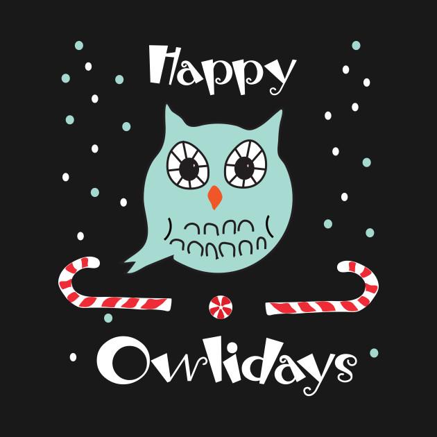 2558284 0 - Owl Christmas