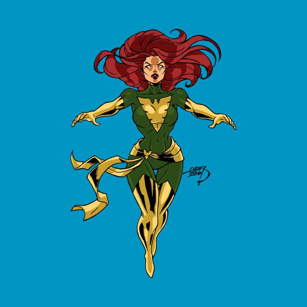 Phoenix Jean Grey X-Men Shirt Apocalypse Marvel Comics Wolverine
