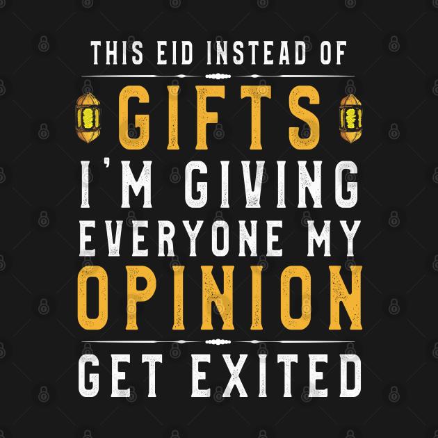 Funny Eid Sayings TShirt Eidia Muslim Father Sayings to kids
