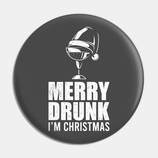 Merry Drunk I'm Christmas Funny X-Mas Gift
