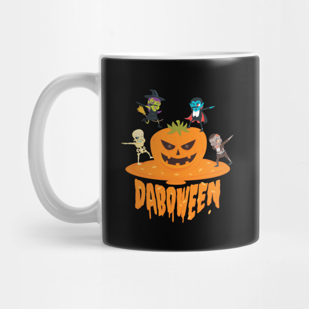 Daboween Collection - Halloween Gift For Kids Halloween Shirt For Boys Halloween Mug