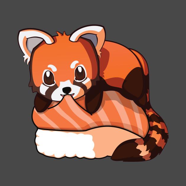Red Panda Salmon Sushi