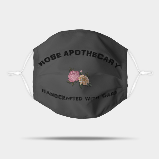 Rose Apothecary Handcrafted with Care Short-Sleeve Unisex T-Shirt Rose Apothecary Logo ...