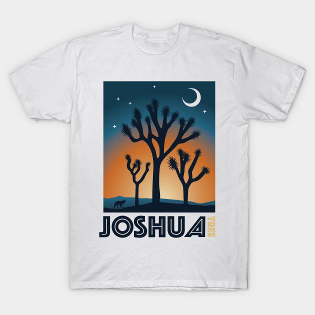 Joshua Tree National Park Travel Poster Apparel Joshua Tree National Park T Shirt Teepublic Au